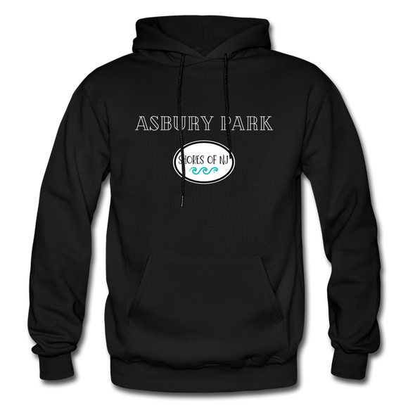 Asbury Park Shores of NJ Hoodie - black