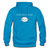 Asbury Park Shores of NJ Hoodie - turquoise