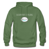 Asbury Park Shores of NJ Hoodie - military green