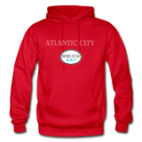 Atlantic City Shores of NJ Hoodie - red