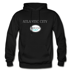 Atlantic City Shores of NJ Hoodie - black