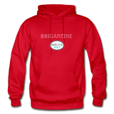 Brigantine - Shores of NJ Hoodie - red