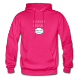 Harvey Cedars - Shores of NJ Hoodie - fuchsia