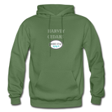 Harvey Cedars - Shores of NJ Hoodie - military green