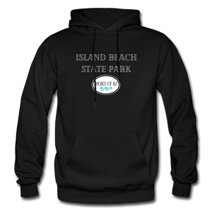 Island Beach State Park - Shores of NJ Hoodie - black