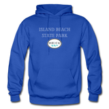 Island Beach State Park - Shores of NJ Hoodie - royal blue
