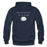 Island Beach State Park - Shores of NJ Hoodie - navy