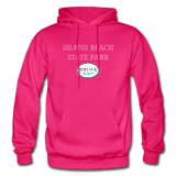 Island Beach State Park - Shores of NJ Hoodie - fuchsia