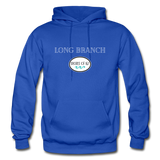 Long Branch - Shores of NJ Hoodie - royal blue