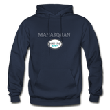 Manasquan - Shores of NJ Hoodie - navy