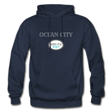 Ocean City - Shores of NJ Hoodie - navy