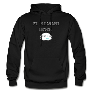 Pt. Pleasant Beach - Shores of NJ Hoodie - black