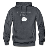 Pt. Pleasant Beach - Shores of NJ Hoodie - charcoal gray
