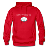 Sandy Hook - Shores of NJ Hoodie - red