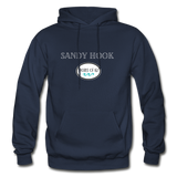 Sandy Hook - Shores of NJ Hoodie - navy