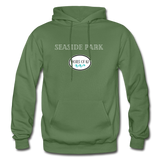 Seaside Park - Shores of NJ Hoodie - military green