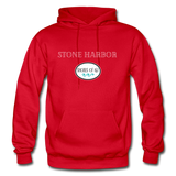 Stone Harbor - Shores of NJ Hoodie - red