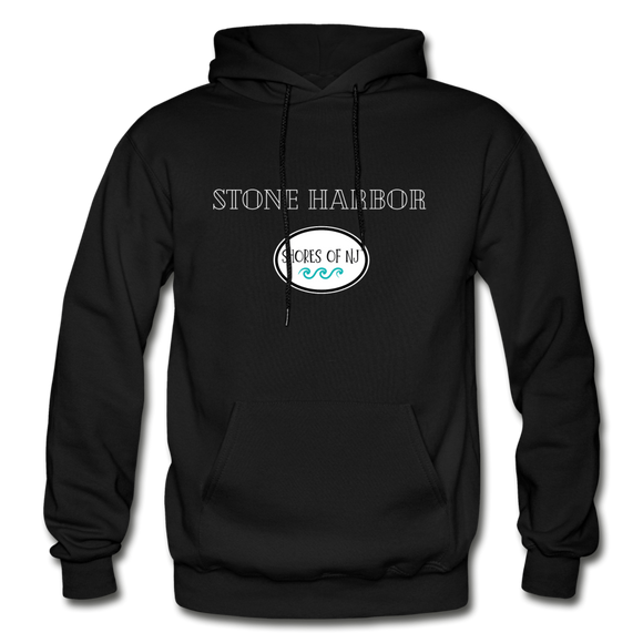 Stone Harbor - Shores of NJ Hoodie - black