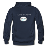 Stone Harbor - Shores of NJ Hoodie - navy