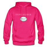 Stone Harbor - Shores of NJ Hoodie - fuchsia