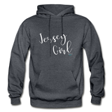 Jersey Girl Hoodie - charcoal gray