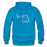 Jersey Girl Hoodie - turquoise