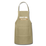 Jersey Girl Blessed & Thankful Apron - khaki