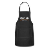 Jersey Girl Blessed & Thankful Apron - black