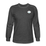Keepin' It Reel Long Sleeve T-Shirt - heather black