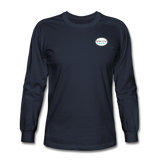 Keepin' It Reel Long Sleeve T-Shirt - navy