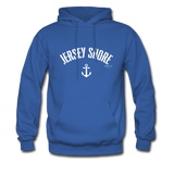 Jersey Shore Anchor Hoodie - royal blue