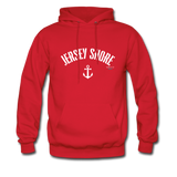Jersey Shore Anchor Hoodie - red