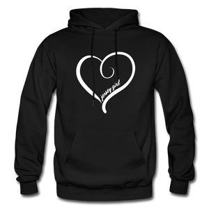 Jersey Girl Heart Hoodie - red