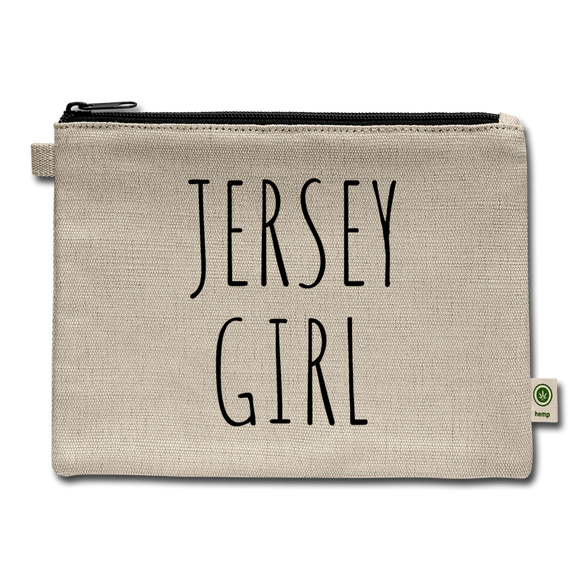 Jersey Girl Accessory Bag - natural