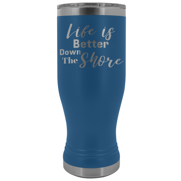 Life is Better Down The Shore Boho Tumbler - Shores of NJ LLC