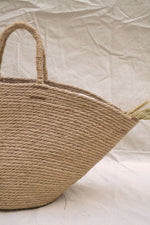 details of the jute bag