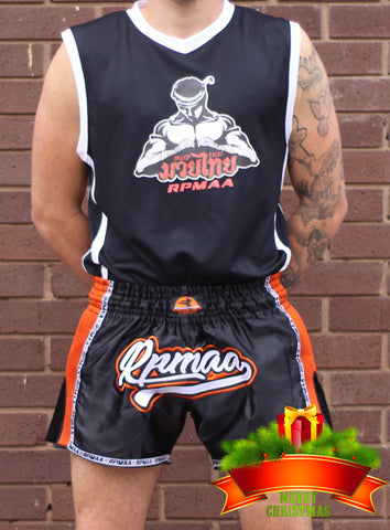RPMAA Mens Thai Boxing Vest