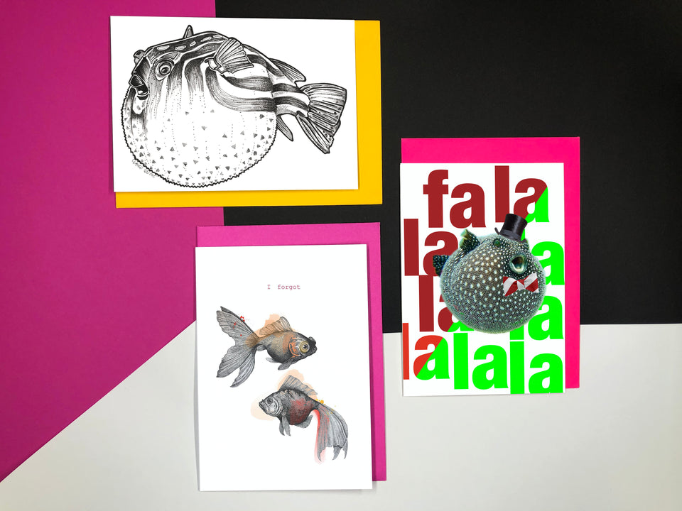 Fish Greeting Cards