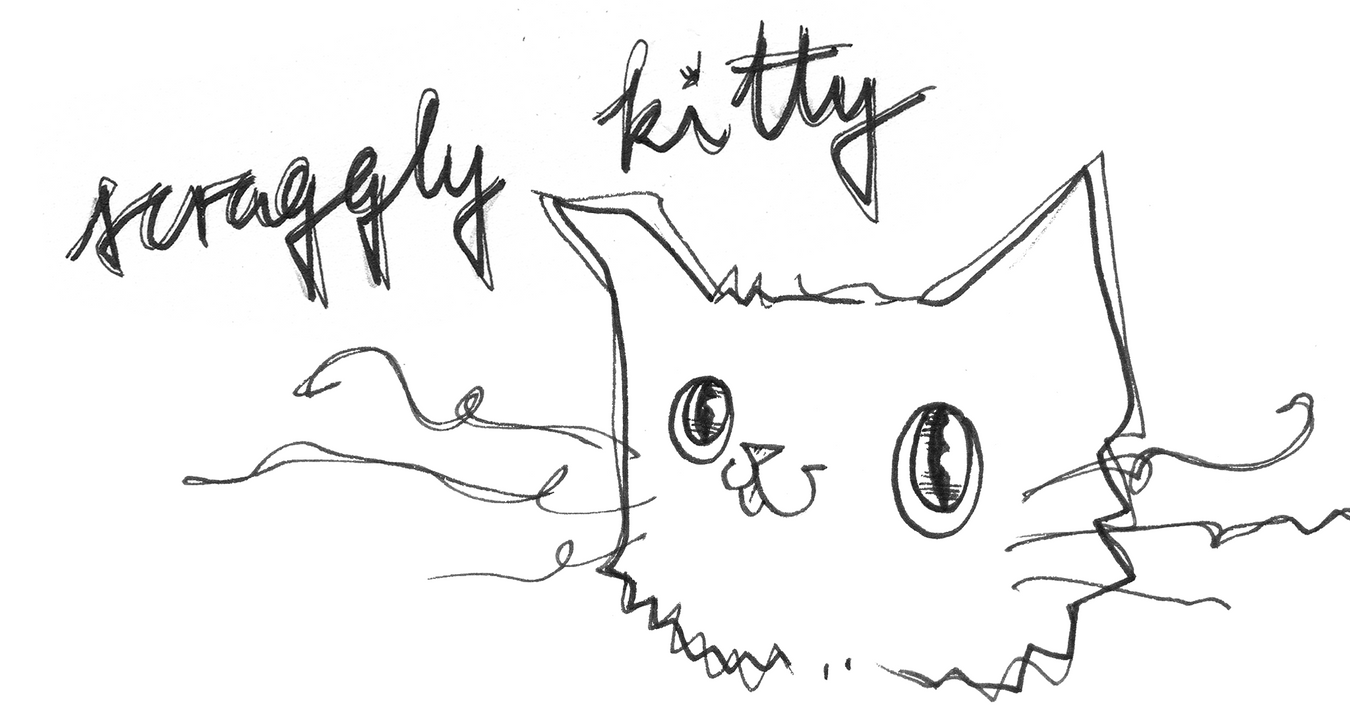 Scraggly Kitty