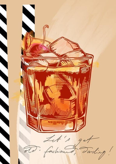 This image contains Drink,Illustration,Old fashioned glass,Drawing,Highball glass,Drinkware