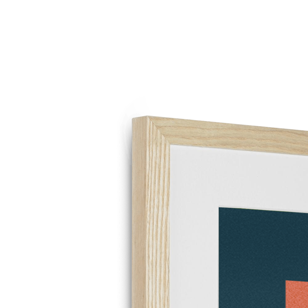 Framed Print Detail