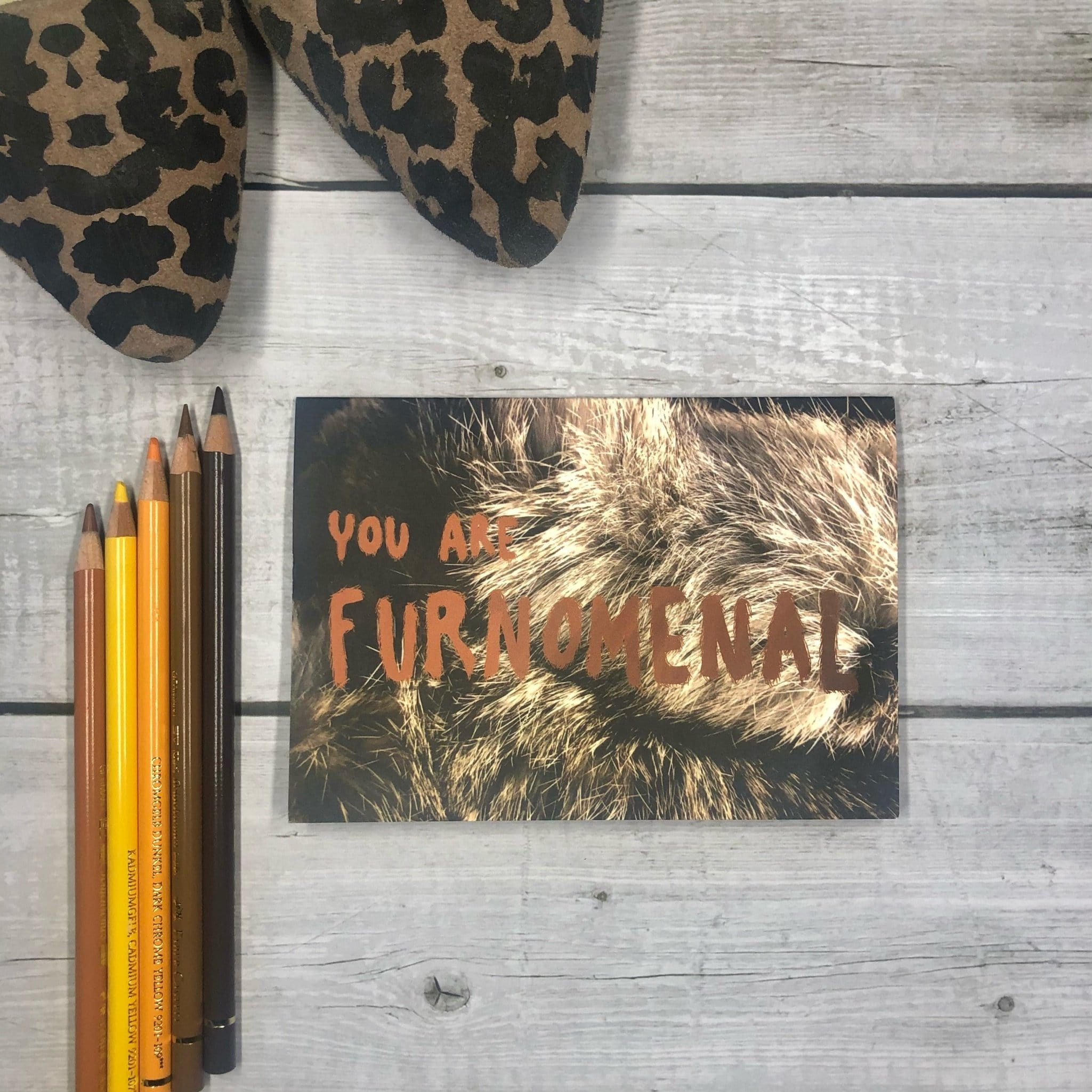 Furnomenal Greeting Card