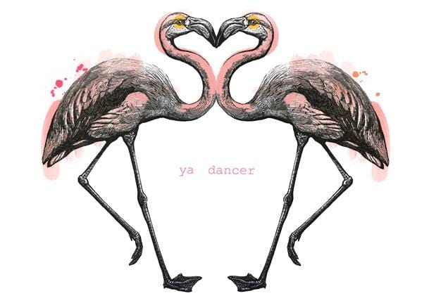 Ya Dancer Greeting Card