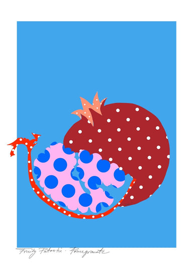 Pomegranate Matte Art Print