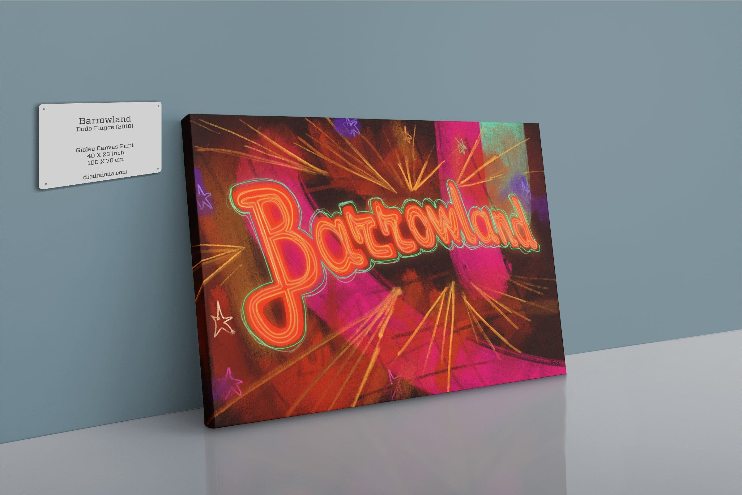 Barrowland Canvas Print
