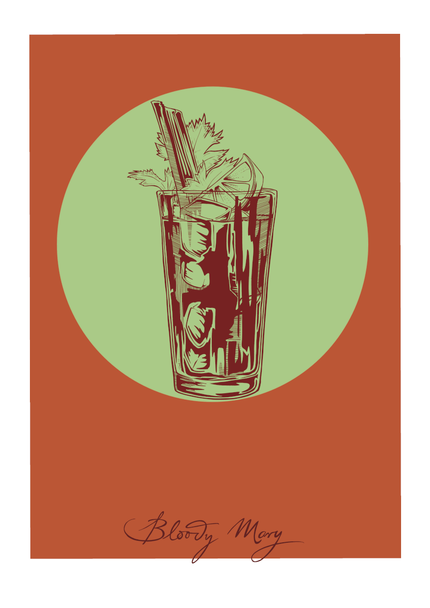 Bloody Mary Giclée Art Print