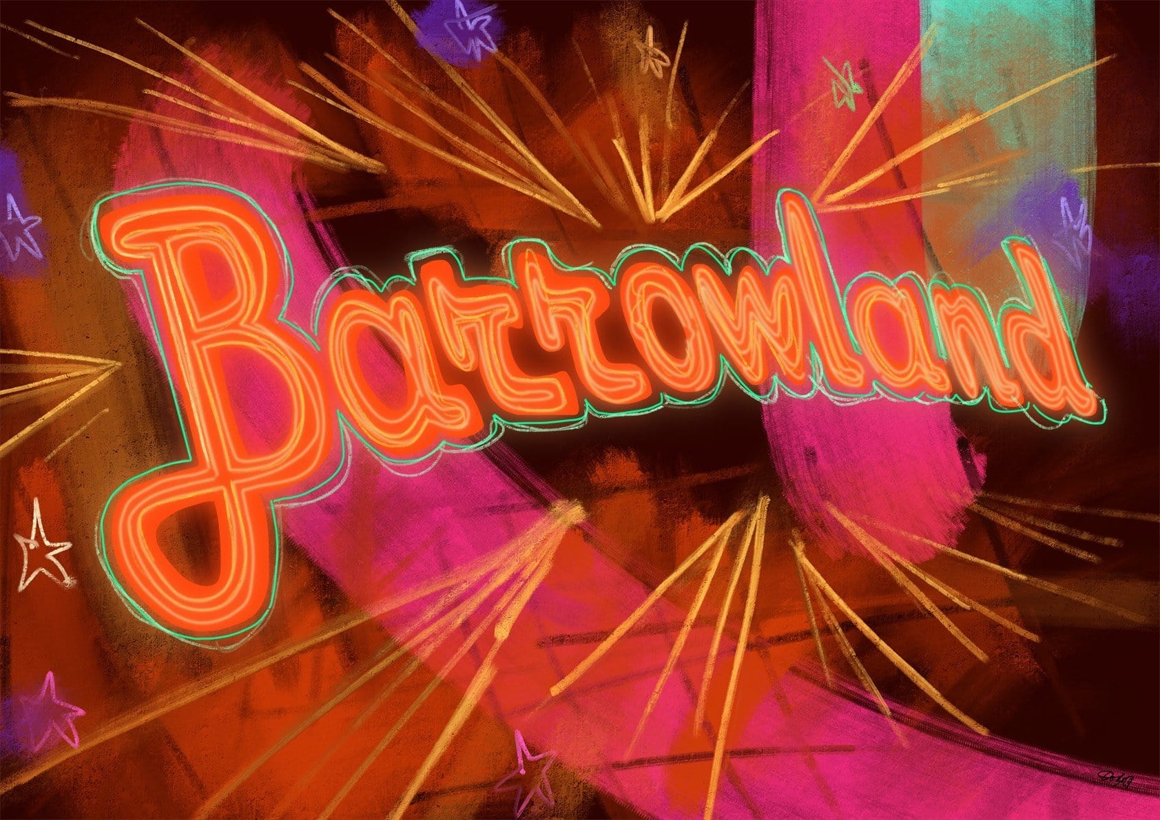 Barrowland Matte Art Print