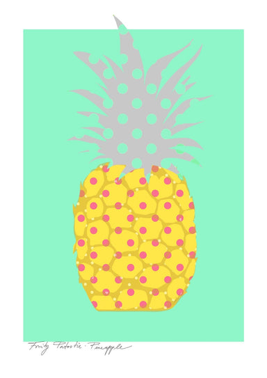 Pineapple Matte Art Print