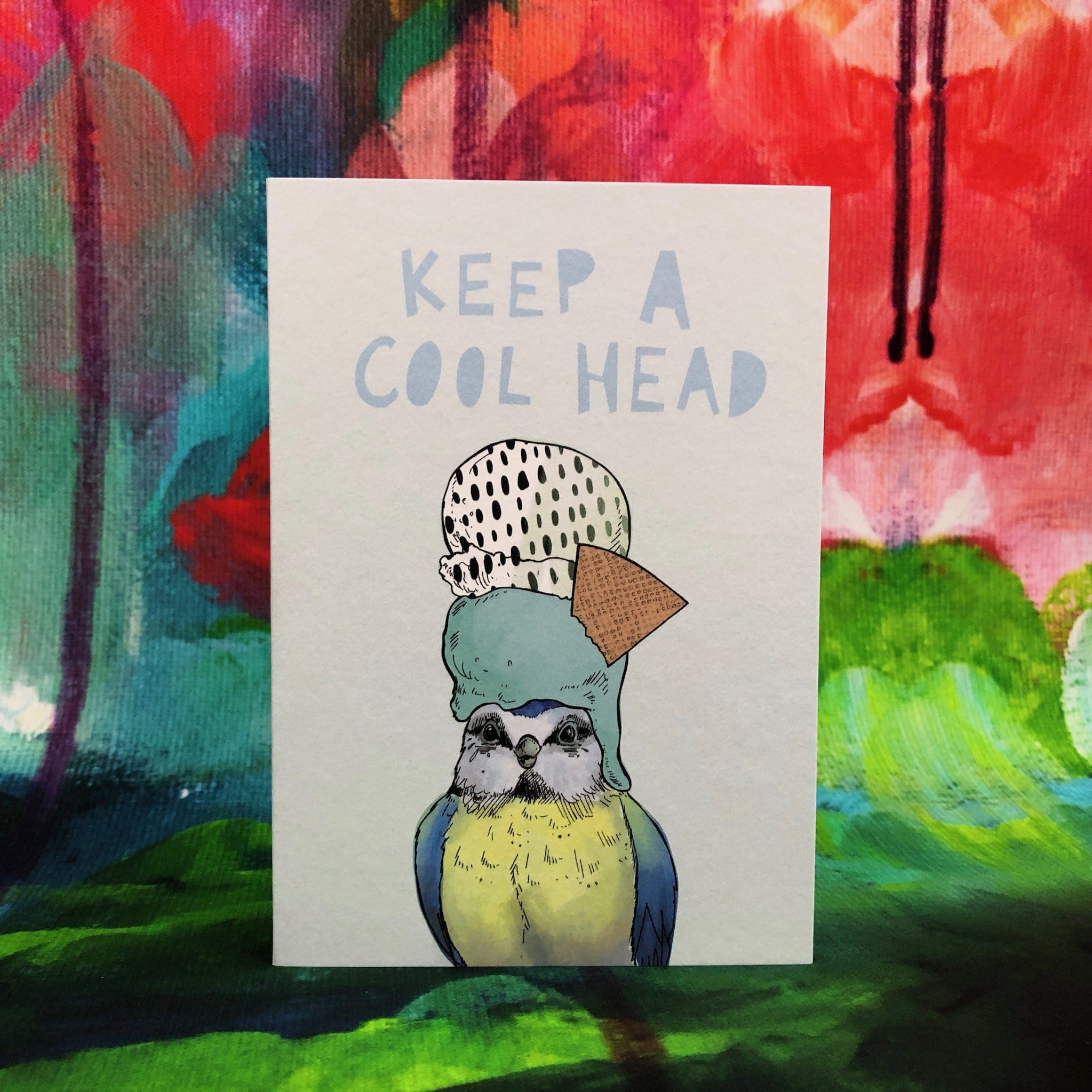 Ice Ice Beaky - Cool Head Greeting Card