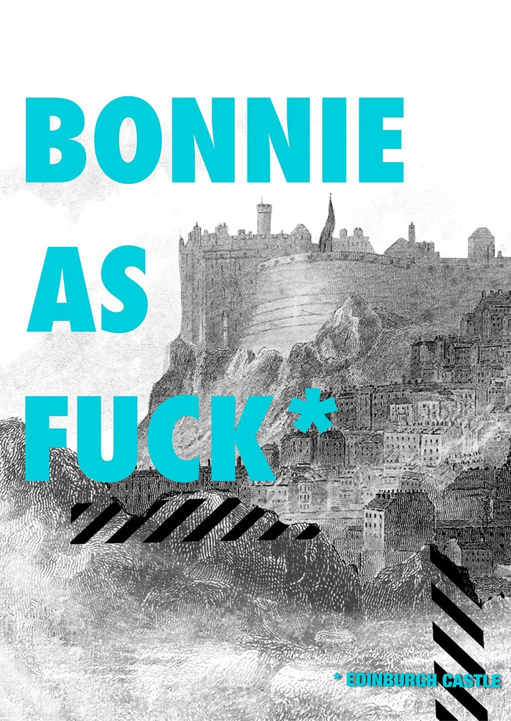 Bonnie Edinburgh Castle Greeting Card